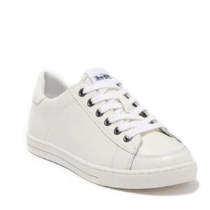 Coach White Leather Fashion Sneakers